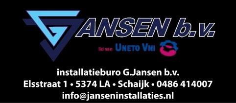 Janssen installatie